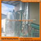 china JNC Waste engine oil/lube oil Recycling Distillation Plant to diesel oil