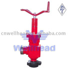 wellhead manual choke valve