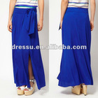 Cheap Wholesale Skirt! New Fashion Maxi Skirt with knee-high split(SK2114)