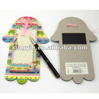 cute magnetic memo pad/note pad