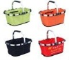 foldable design shopping basket picnic bakset