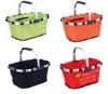 foldable design shopping basket picnic bakset