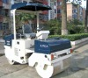 hydraulic dual drum vibratory roller (3 tons)