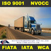 Land trucking service in China