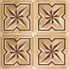 wood inlay floor parquet tile wood parquet flooring LIREN-118
