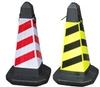 square traffic cone