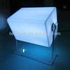 360 degrees vertical rotating light box