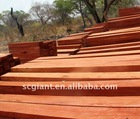 Zambian Redwood sawn planks