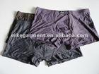 modal elastane underwear , striped design boxer briefs,inner wear for male