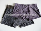 modal elastane underwear , striped design boxer briefs,inner wear for male