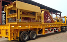 Hongji Mobile crushing plant Mobile crushing machines