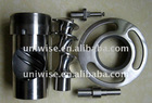 SS 202# meat grinder mixer, plate, knife and gears, 22# parts, good polish