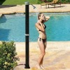 Outdoor bent solar shower 40 lt swimming pool & garden