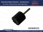 Spiral Band Rubber Mandrels - Sanding Drums 30*30(mm)