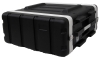 4 Space Rack ABS Flight ATA Road Case with lock