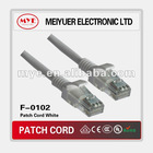 Good performance CAT5e UTP Patch Cord for network