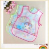 Lovely baby waterproof PVC bib