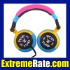 Street Style Over Ear Stereo Headset Designer Studio Headphones