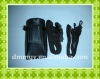 Holter pouch with two ties