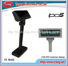 Double line VFD POS customer display,customer pole display
