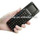 Factory cheap 2.4G Ultra Wireless Keyboard with Touchpad & Laser Point