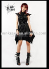 Q-132 Gothic Dress with Strong Sense of Design