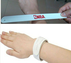 2012 new silicone slap bracelet