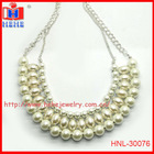 Statement Pearl Chunky Necklace