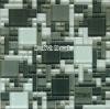 hot sale,fashion style crystal mosaic tile,backsplash tiles 300x300mm--HY1002