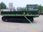 crawler trailer for banana tree transport in china