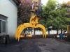Rotary hydraulic grab