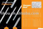 hanger bolt with standard size hexagonal bolt