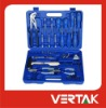 57pcs hand tools set in blow mold case