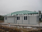 two-storey prefabricated house