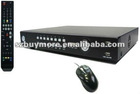 h.264 16CH network DVR Real time recording support