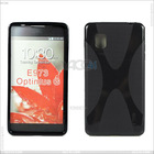 Hot-Selling X type TPU cover case for LG E973(Optimus G), P-LGE973TPU002