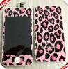 Pink Leopard Conversion Kit (LCD Assembly + Back Housing + Home Button) full housing kit for iPhone 4S