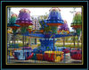 Newest design,the theme park amusement rotary rides jellyfish from the manufacture