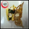 Fashion butterfly gold mask