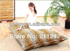 Leopard oxford material bean bag for home cloth fabric furniture