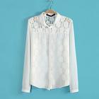 ZDQ ladies lace blouse