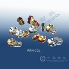 (P3-01) Rhinestone roundel, spacer, flower-shape rings