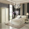 2011 luxury elegant wooden bedroom furniture sets (BD001)