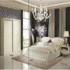 2011 luxury elegant wooden bedroom furniture sets (BD001)