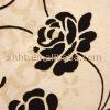 Plain&printed flocking fabric upholstery curtain sofa cloth