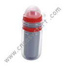 plastic two layer water bottle