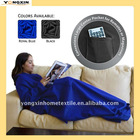 Machine washable Super soft polyester fleece cozy blanket(YXBLT-11101256)