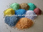 colorful EPDM rubber granules for athletic sports