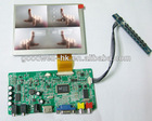 HDMI Input 4:3 Touch VGA LCD 5 Inch for Industrial Application
