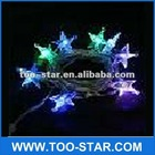 Hot selling LED Christmas Tree USB computer LED decorate light 8pcs 7 colors change LED